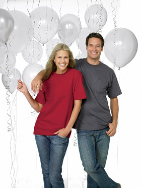 Customized tshirts and Custom Printed Balloons